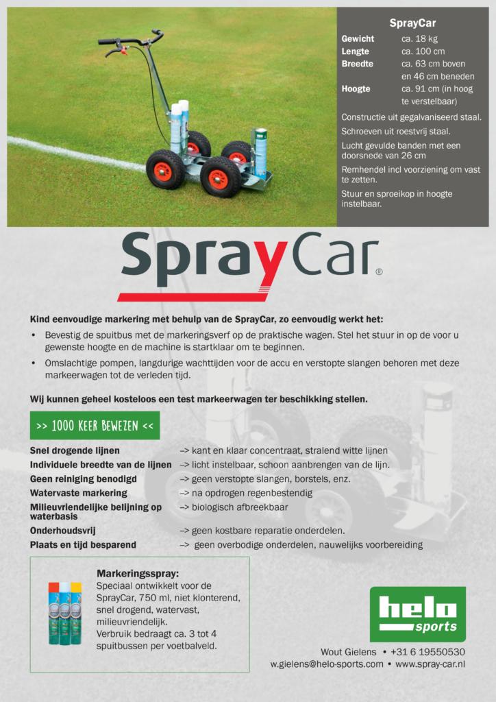 Affiche Spray-Car