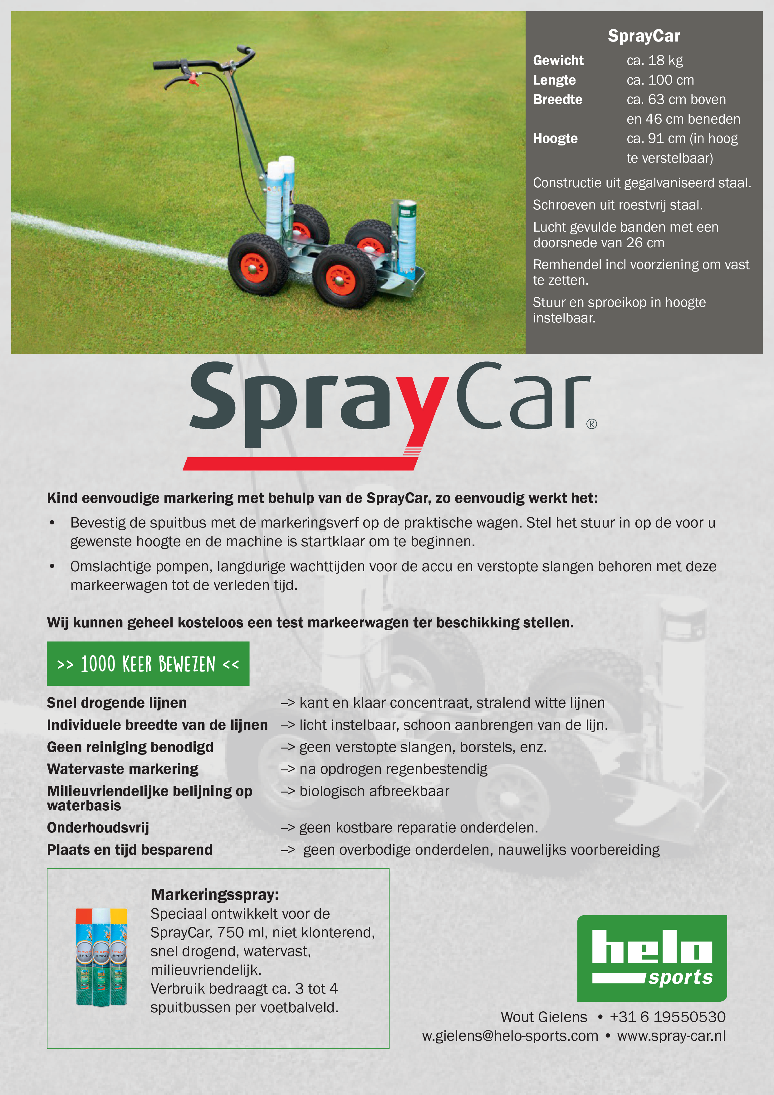 Affiche Spray-Car
